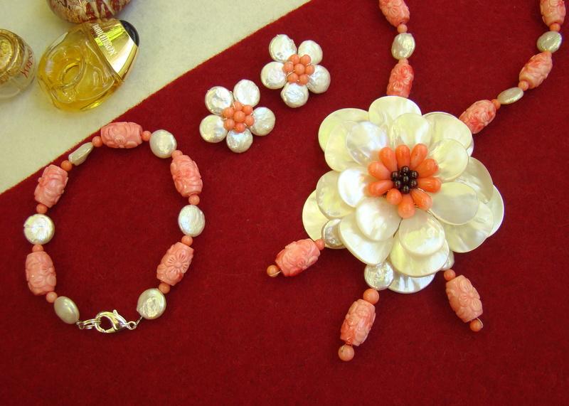 """""""Flori de piatră-Bijoux"""" albumul II-bijuterii artizanale marca Didina Sava - Pagina 11 Colier42"""