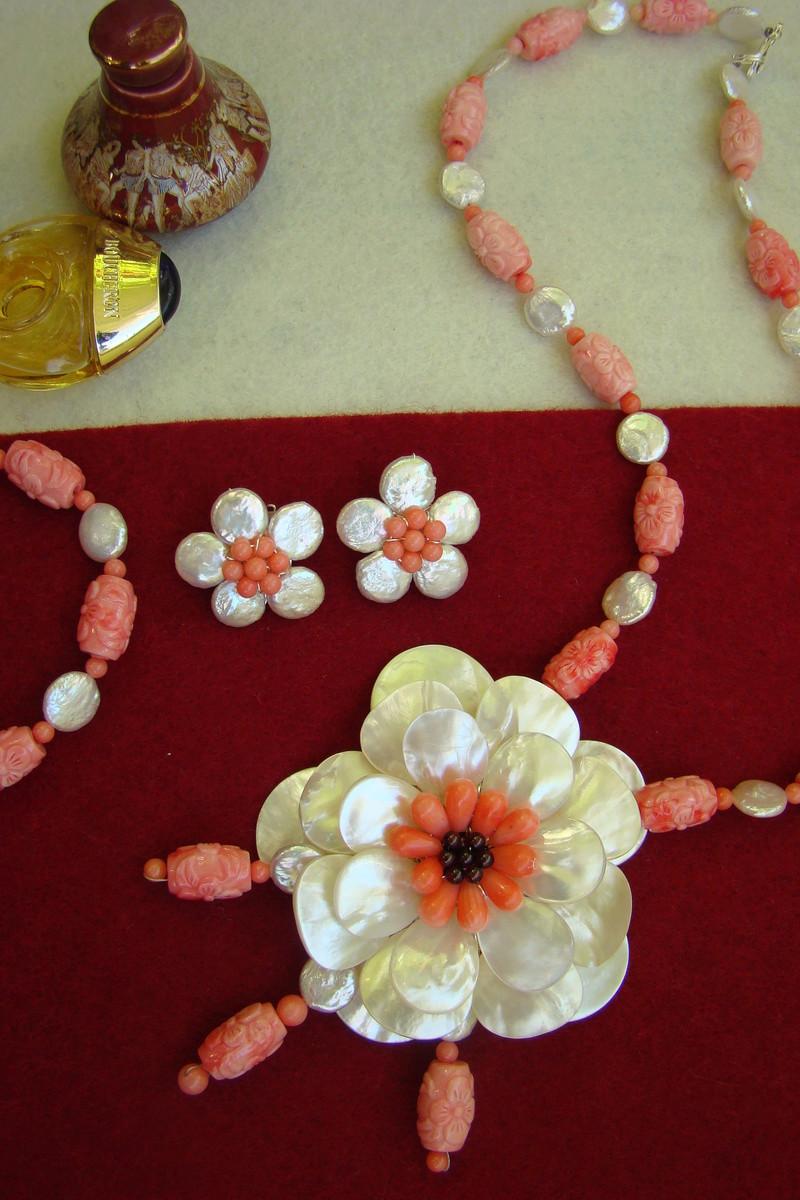 """""""Flori de piatră-Bijoux"""" albumul II-bijuterii artizanale marca Didina Sava - Pagina 11 Colier43"""