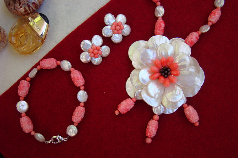 """""""Flori de piatră-Bijoux"""" albumul II-bijuterii artizanale marca Didina Sava - Pagina 11 Colier44"""