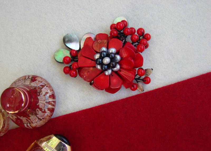 """""""Flori de piatră-Bijoux"""" albumul II-bijuterii artizanale marca Didina Sava - Pagina 10 Colier46"""