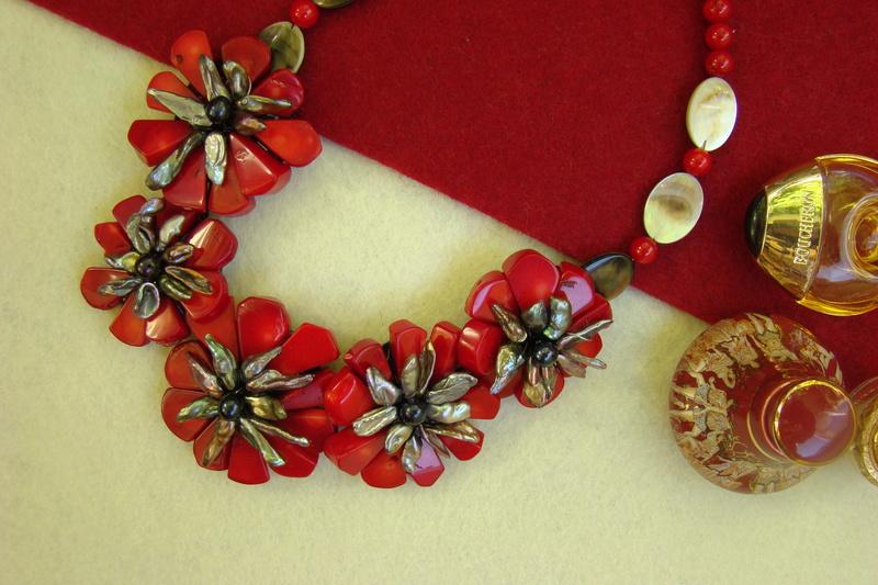 """""""Flori de piatră-Bijoux"""" albumul II-bijuterii artizanale marca Didina Sava - Pagina 10 Colier48"""