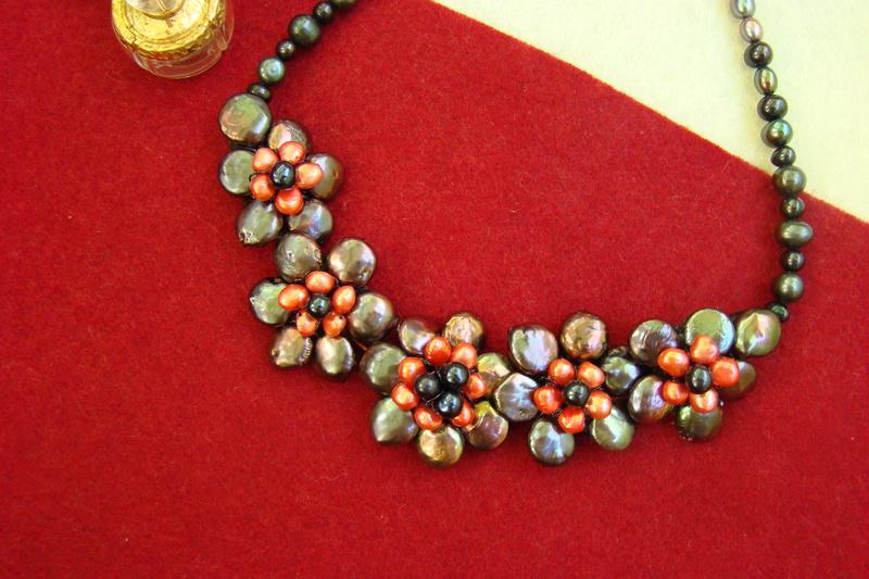 """""""Flori de piatră-Bijoux"""" albumul II-bijuterii artizanale marca Didina Sava - Pagina 10 Colier50"""