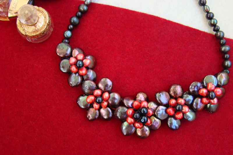"""""""Flori de piatră-Bijoux"""" albumul II-bijuterii artizanale marca Didina Sava - Pagina 11 Colier51"""