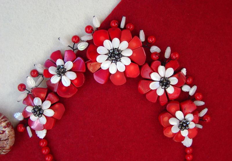 """""""Flori de piatră-Bijoux"""" albumul II-bijuterii artizanale marca Didina Sava - Pagina 11 Colier54"""