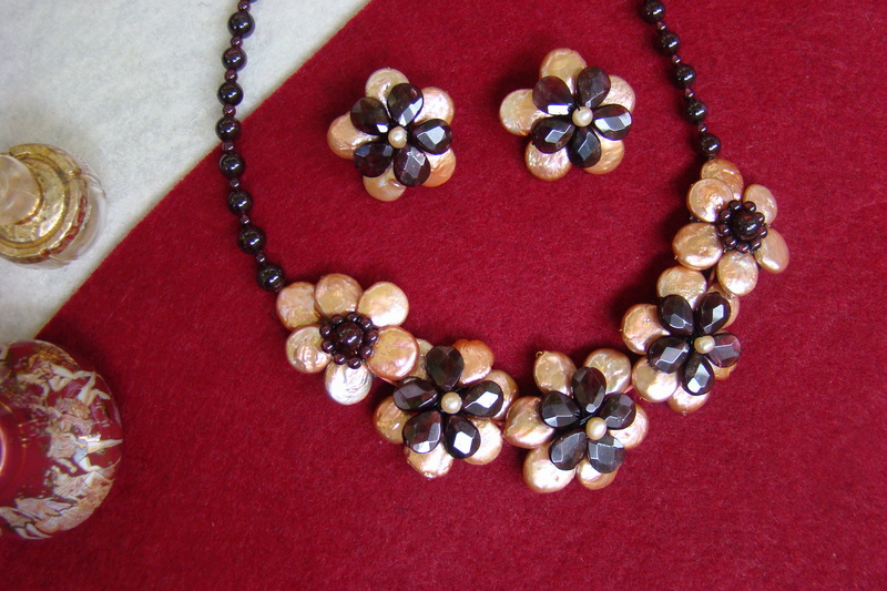 """""""Flori de piatră-Bijoux"""" albumul II-bijuterii artizanale marca Didina Sava - Pagina 11 Colier56"""