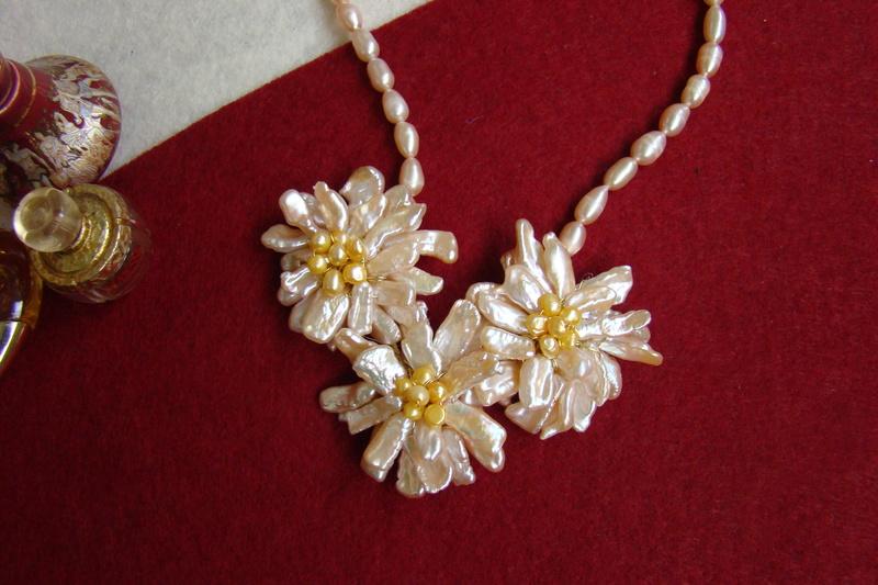 """""""Flori de piatră-Bijoux"""" albumul II-bijuterii artizanale marca Didina Sava - Pagina 11 Colier67"""