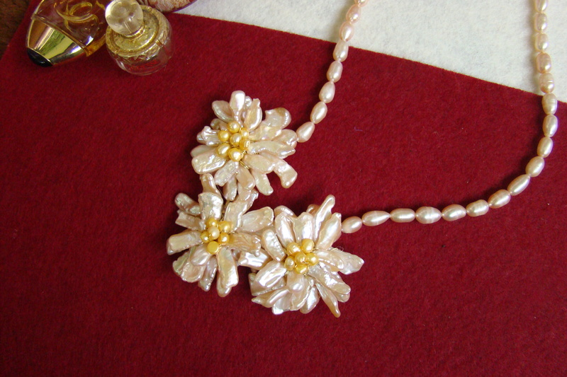 """""""Flori de piatră-Bijoux"""" albumul II-bijuterii artizanale marca Didina Sava - Pagina 11 Colier68"""