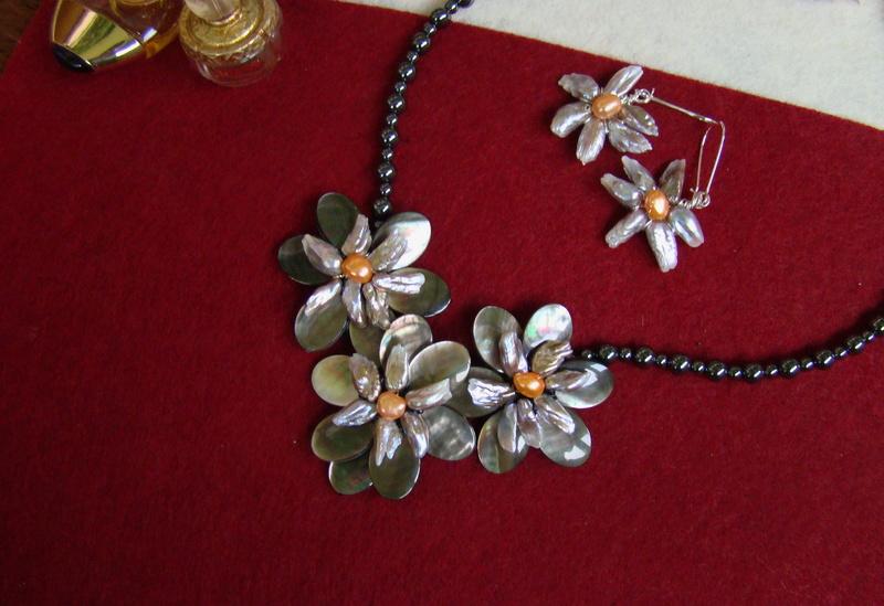 """""""Flori de piatră-Bijoux"""" albumul II-bijuterii artizanale marca Didina Sava - Pagina 11 Colier69"""