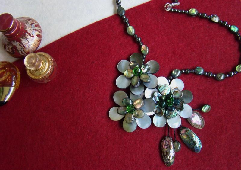 """""""Flori de piatră-Bijoux"""" albumul II-bijuterii artizanale marca Didina Sava - Pagina 11 Colier73"""
