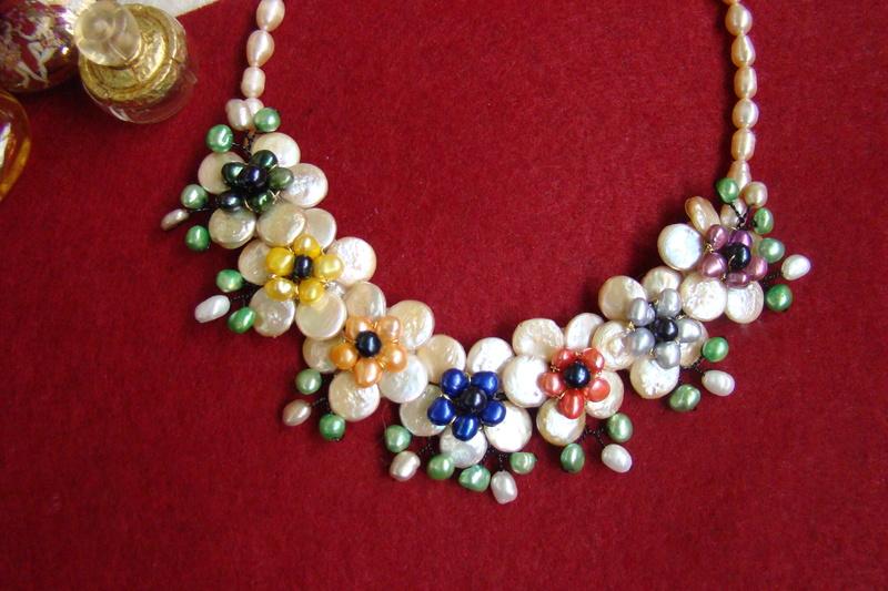 """""""Flori de piatră-Bijoux"""" albumul II-bijuterii artizanale marca Didina Sava - Pagina 11 Colier79"""