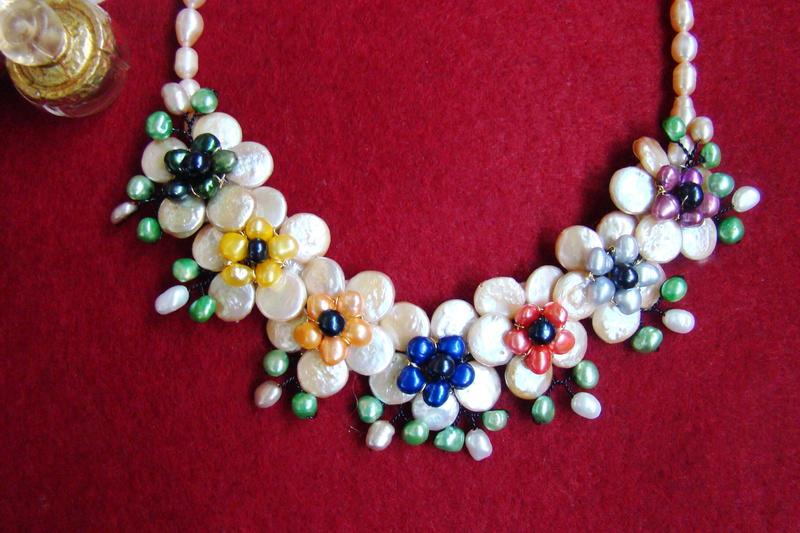 """""""Flori de piatră-Bijoux"""" albumul II-bijuterii artizanale marca Didina Sava - Pagina 11 Colier80"""