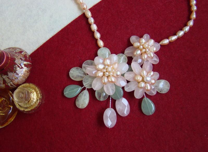"""""""Flori de piatră-Bijoux"""" albumul II-bijuterii artizanale marca Didina Sava - Pagina 8 Colier93"""