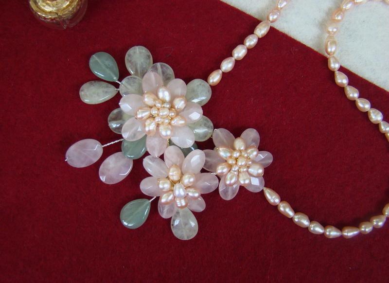 """""""Flori de piatră-Bijoux"""" albumul II-bijuterii artizanale marca Didina Sava - Pagina 8 Colier94"""