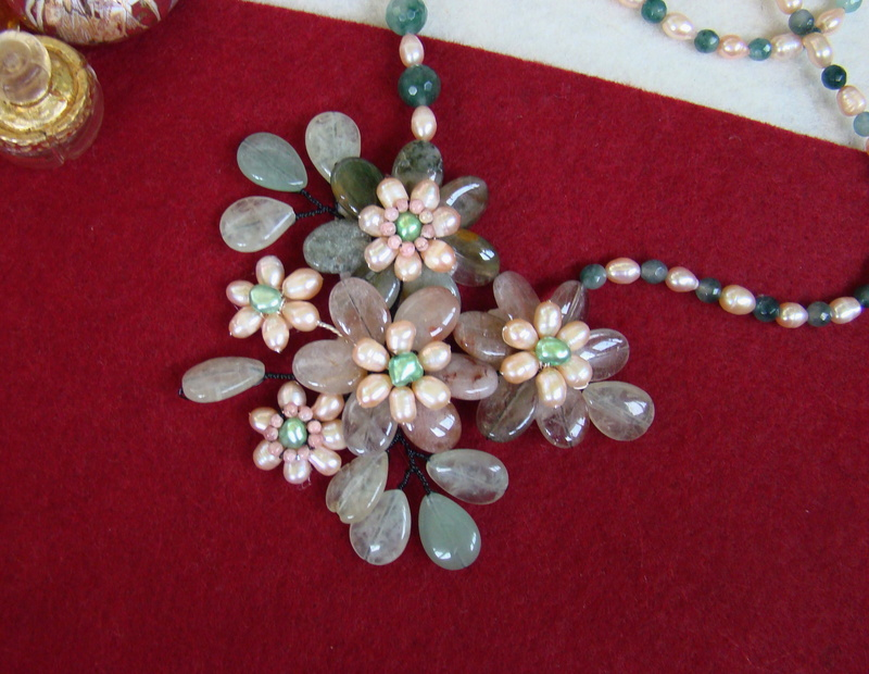 """""""Flori de piatră-Bijoux"""" albumul II-bijuterii artizanale marca Didina Sava - Pagina 11 Colier96"""