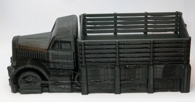 Opel Maultier échelle 1/50 en 3D Dsc07933