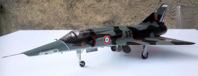 Mirage III R- Jacqueline AURIOL - Record 100 kms en circuit fermé 0113
