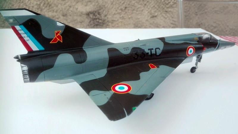 Mirage III R- Jacqueline AURIOL - Record 100 kms en circuit fermé 0312