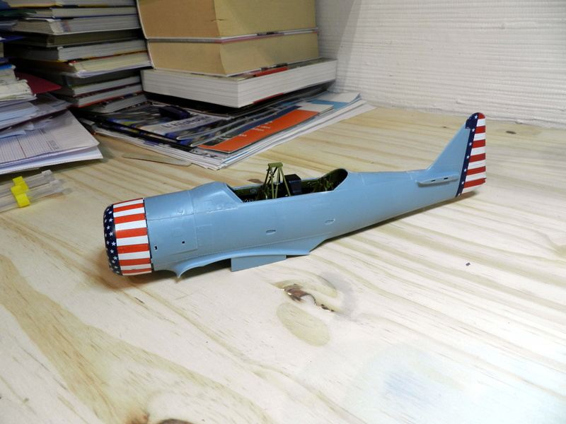 "Texan T-6 TA-349 ""Dazzlin' Deb"" - 1/32 [Terminé] Dscn0222"