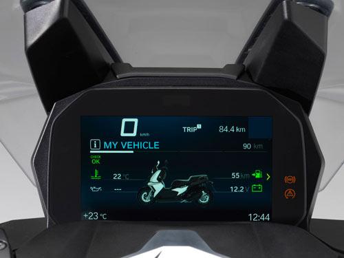 Un nouveau scoot BMW 400 Bmw-c410