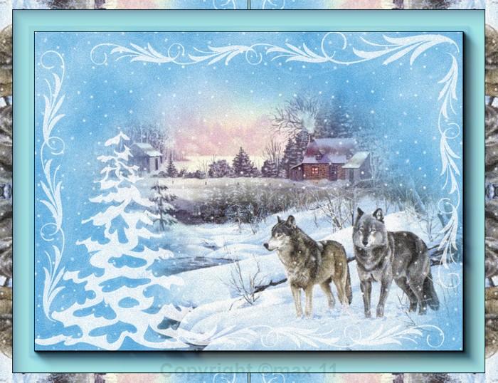 paysage sous la neige  93231010