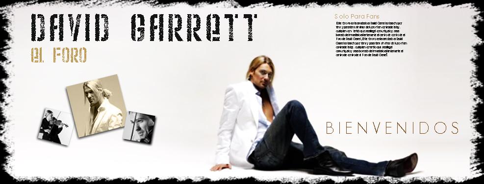David Garrett Foro