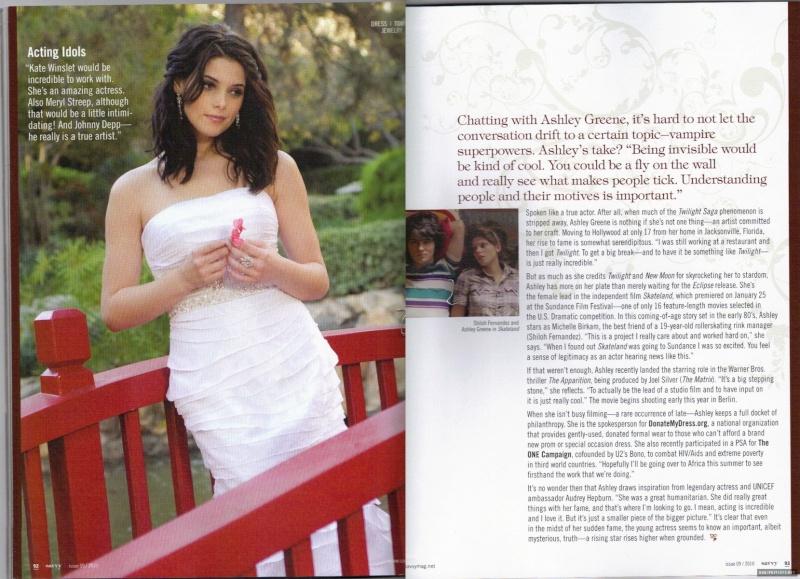 Savvy Magazine [Février 2010] [Trad] Savvy011