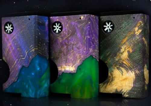 Asmodus Luna : une box Bottom Feeder avec chipset et en bois stabilisé Ultron10