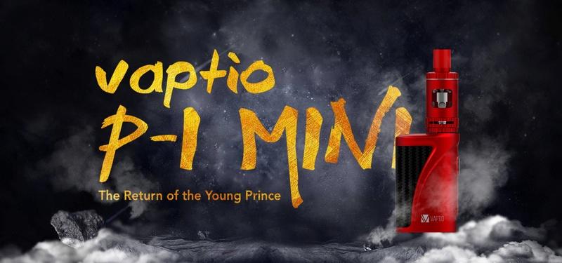 Le kit P-I Mini de Vaptio : 0,25 ohm pour les débutants ?  Vaptio12