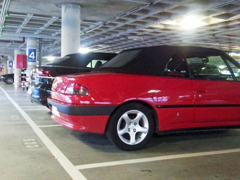 [ FOTOS ] 306 Cabrio vs/ Nuevo Volkswagen Golf Cabrio 20130512