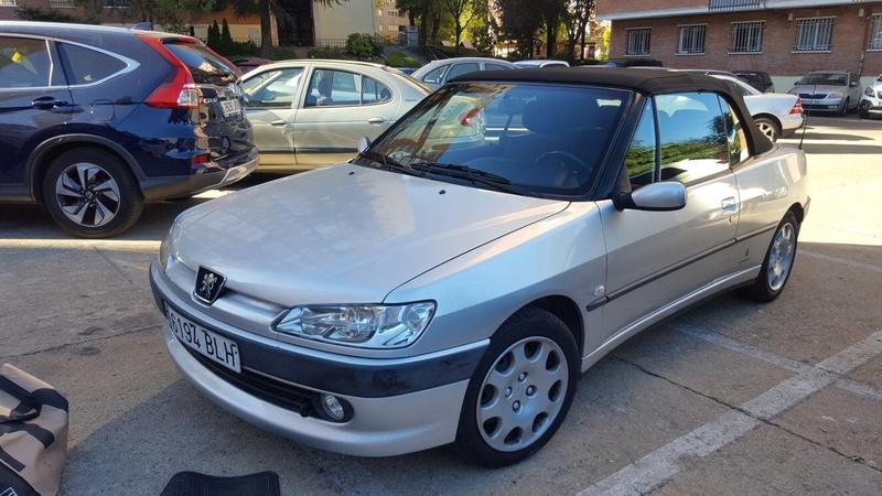 [ SE VENDE ] Peugeot 306 Cabrio 1,6i 100cv año 2000 Image110