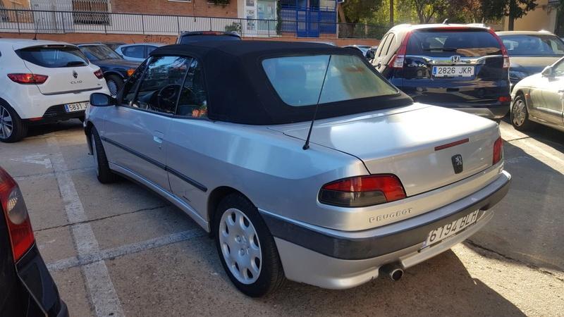 [ SE VENDE ] Peugeot 306 Cabrio 1,6i 100cv año 2000 Image210