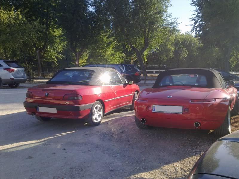 [ FOTOS ] 306 Cabriolet vs/ BMW Z8 Imagen23