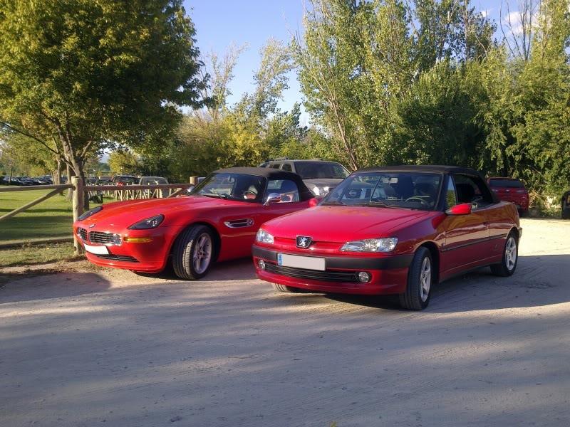 [ FOTOS ] 306 Cabriolet vs/ BMW Z8 Imagen24