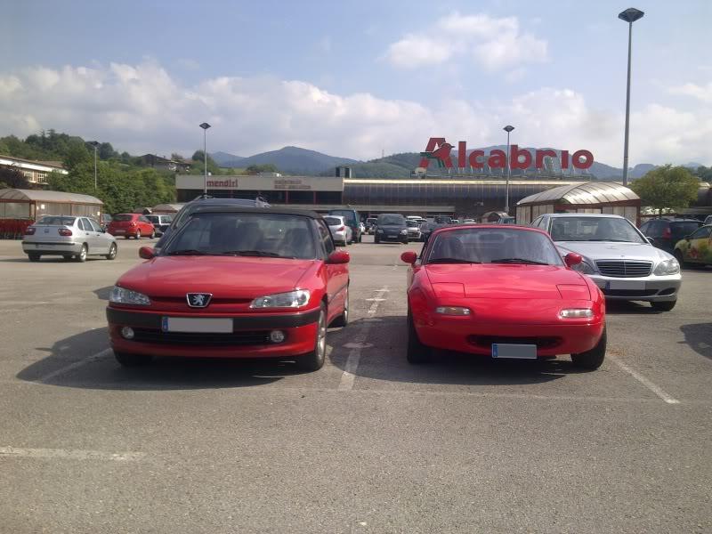 [ FOTOS ] 306 Cabrio vs/ Mazda MX-5 Imagen31