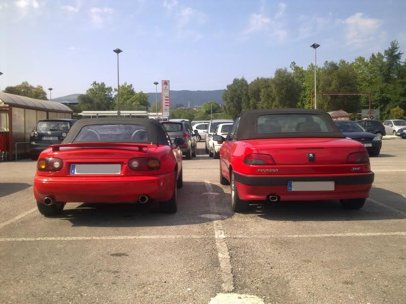 [ FOTOS ] 306 Cabrio vs/ Mazda MX-5 Imagen34