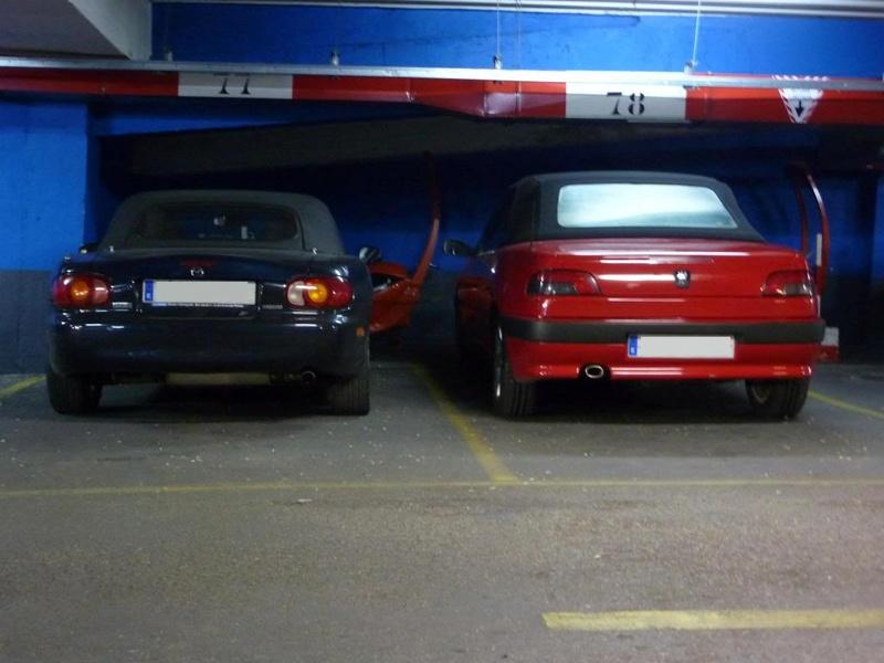 [ FOTOS ] 306 Cabrio vs/ Mazda MX-5 P1010611