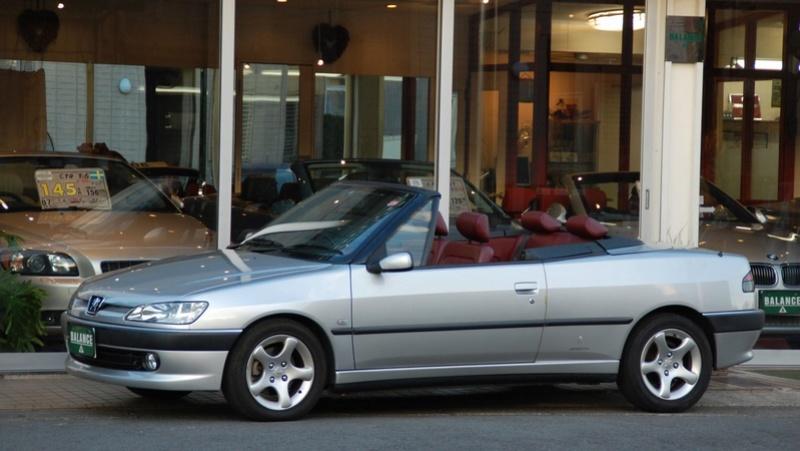 [ VíDEOS ] Peugeot 306 cabrios a la venta... en Japón Peugeo81