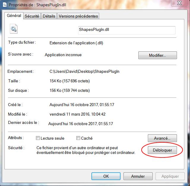 Débloquer un plugin pour CamBam Unlock10