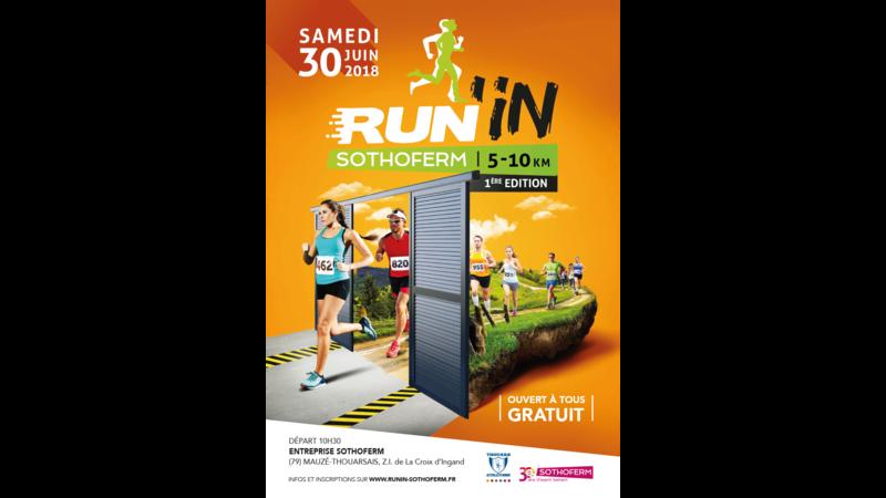 30 JUIN 2018 RUN'IN SOTHOFERM Mauzé Thouarsais (79) Affich10