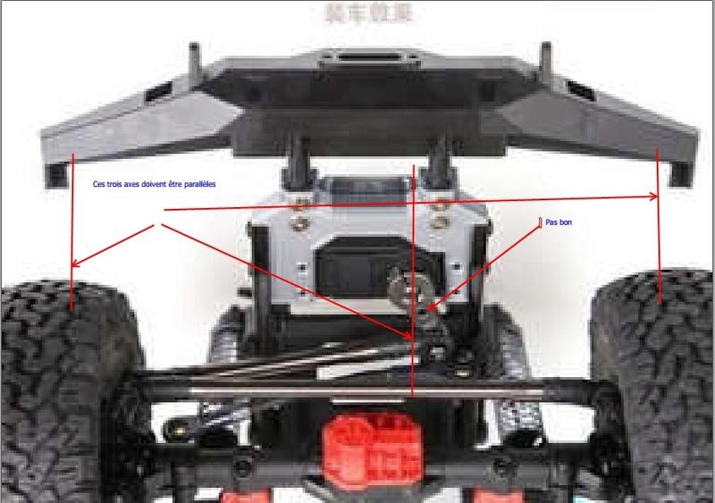 Fabrication support de batterie 3D pour SCX10 II Servo210