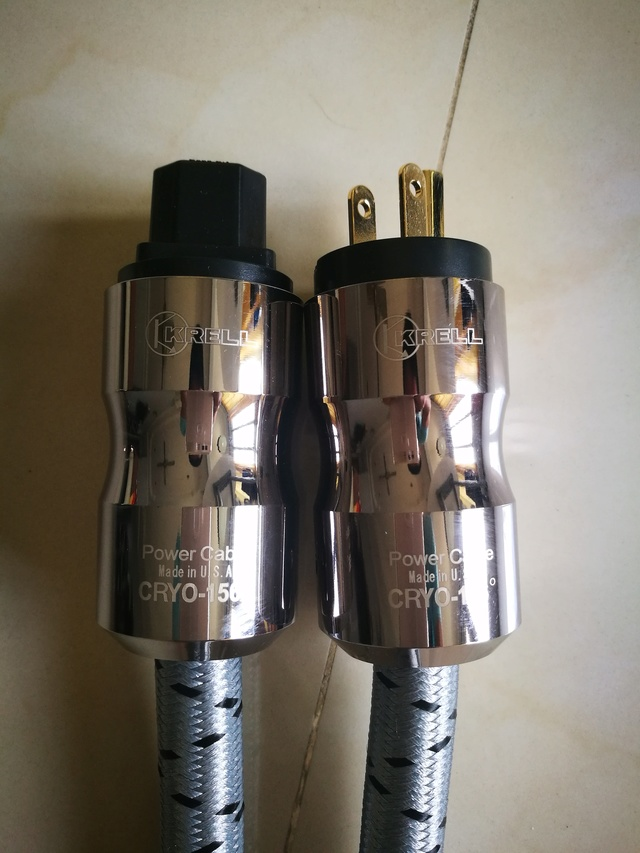 KRELL Power Cable (Used) Img_2015