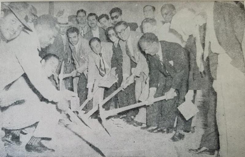 Inauguración del Gran Templo Nacional Masónico el 27 de Febrero de 1955 Quinta10