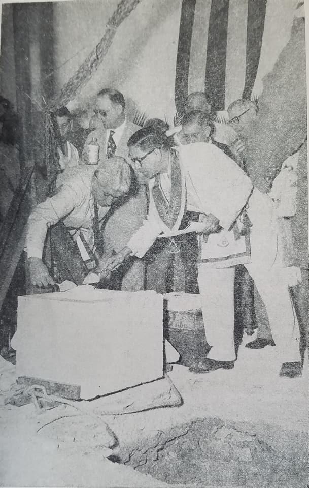 Inauguración del Gran Templo Nacional Masónico el 27 de Febrero de 1955 Sexta10