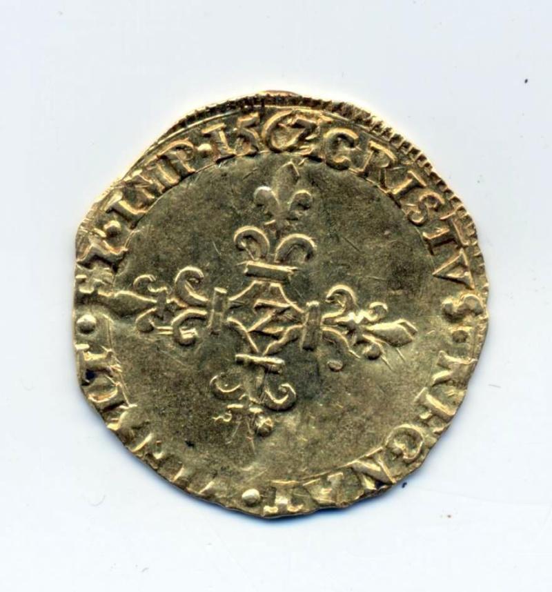 ecu d'or Charles IX pour Grenoble ! Ecu10