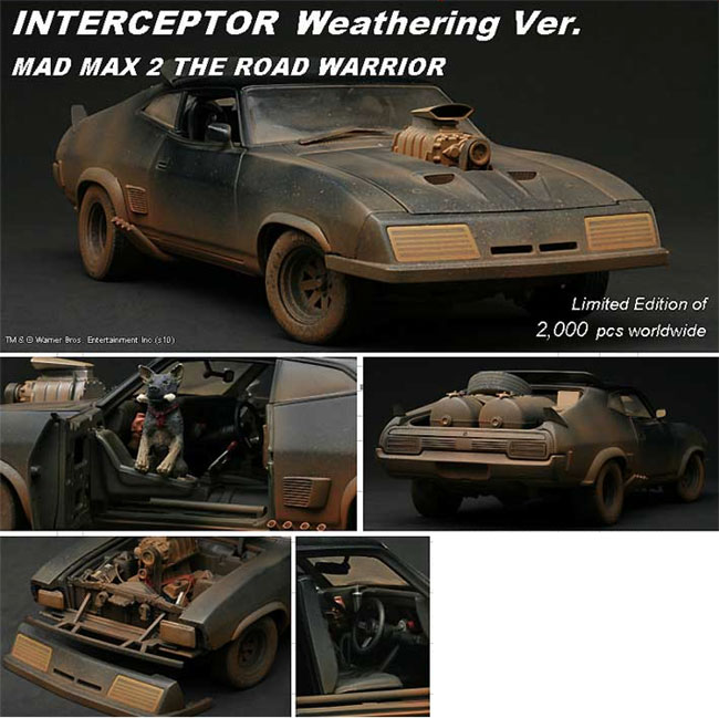INTERCEPTOR WEATHERING VER.MAD MAX 2 THE ROAD WARRIOR- SCALA 1/18 0131810