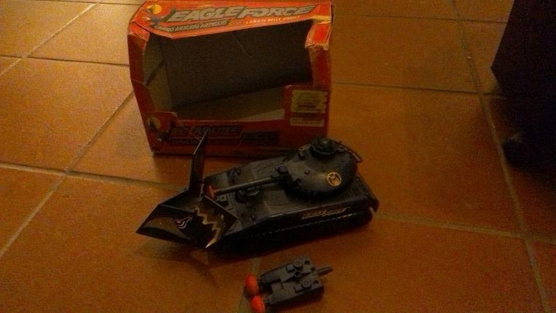 scambio raro carro armato ARTIGLIO della MEGO Win_2011