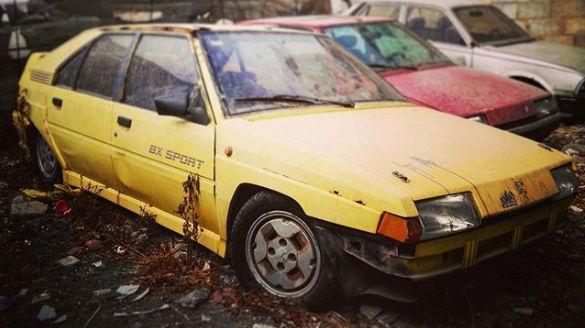 BX Sport jaune en casse  Bx_spo10