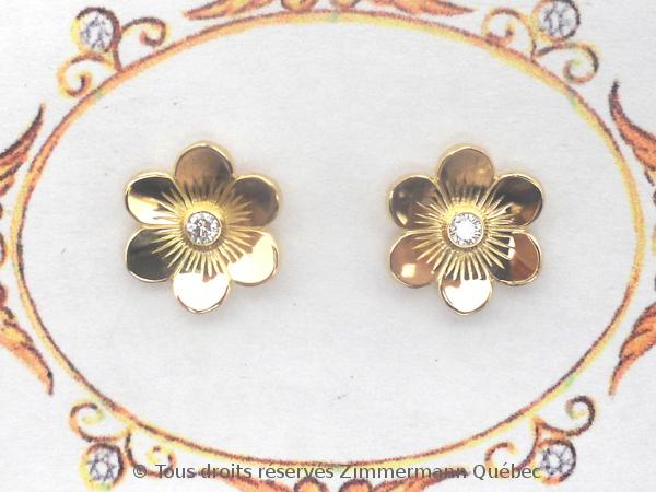 Boucle oreille or et diamant '' Valentina '' Dscn3210