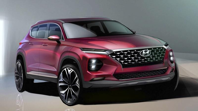 2018 - [Hyundai] Santa Fe IV 2019-h11