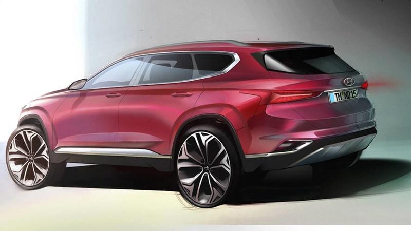 2018 - [Hyundai] Santa Fe IV 2019-h12